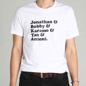 Tops - Queer Eye Fab 5 T-shirt